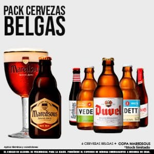 Pack Cervezas Belgas - 92800